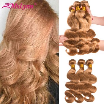 human hair extensions blonde 6