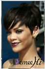 "Brazilian Human Hair 6"" Bob Short glueless Wig None-lace Wigs High Density 150%"
