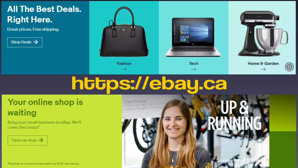 ebay canada shopping