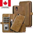 Wallet Magnetic Detachable Apple iPhone Case 7 8 Plus XR X XS 11 Pro Max Cases