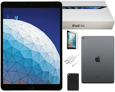 Back To School Bundle-Apple iPad Air 2 64GB, Space Gray, Wi-Fi Only 9.7in Retina