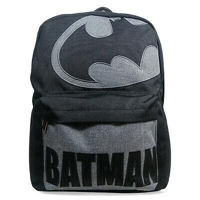 Mens Teen Batman Back To School Backpack Deal Bargain Offer Deal College Univers