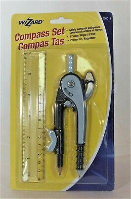 Wizard Compass Set - Mathematics tools -- Back to School Deals!